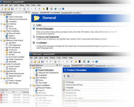 Software Installer for building Windows Installer setups using Microsoft WiX